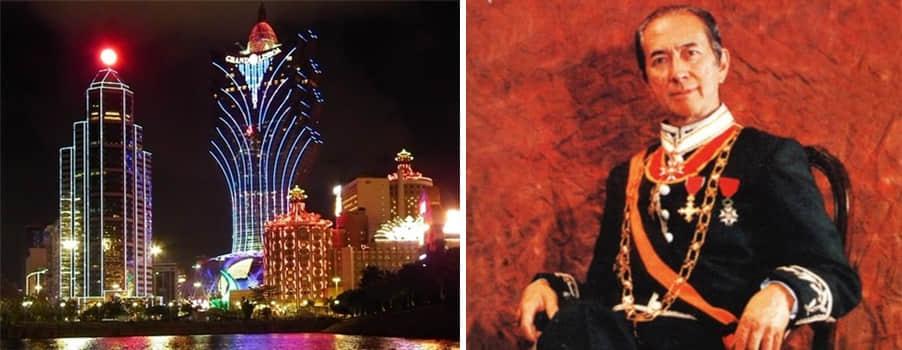 前往亚洲赌王何鸿燊的皇宫 – 澳门新葡京赌场酒店